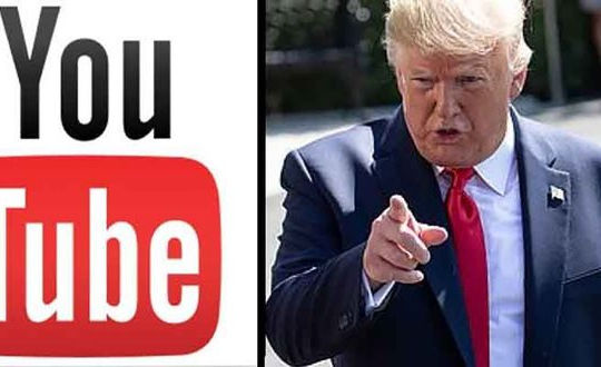 YouTube khóa kênh của ông Trump dưới áp lực từ các nhóm dân quyền