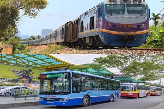 Đường sắt, vận tải lo 'ế' vé tàu, xe buýt