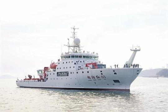 Tàu Trung Quốc tắt hệ thống nhận dạng khi xâm phạm vùng biển Indonesia