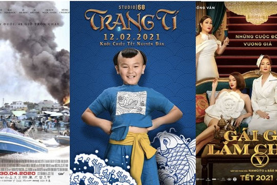 4 phim Việt sẽ ra mắt dịp Tết 2021