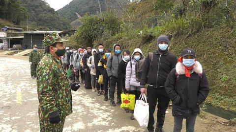 Liên tiếp phát hiện người nhập cảnh trái phép từ Trung Quốc vào Việt Nam