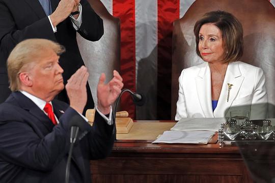 Bà Pelosi đứng ngồi không yên trước điều chỉnh nhân sự giờ chót của ông Trump