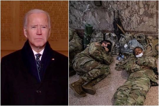 5.000 binh sĩ ngủ ở hầm đậu xe có 1 phòng tắm, Biden xin lỗi Cục trưởng Cục Vệ binh Quốc gia