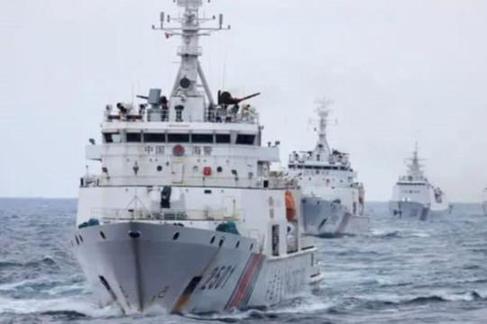 Báo Nhật phân tích toan tính của Trung Quốc khi cho phép hải cảnh nổ súng vào tàu nước khác