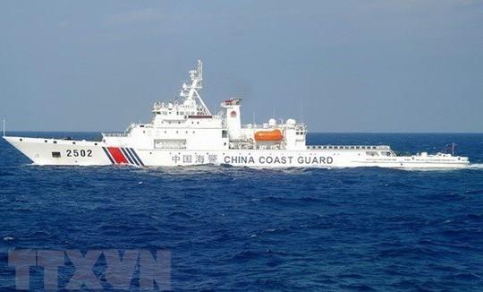 Trung Quốc thông qua luật hải cảnh là đòn nắn gân chính quyền Biden