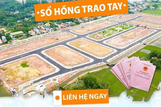 Nam Khang Miền Trung mở bán 50 lô vị trí đẹp nhất dự án Mộ Đức New Central