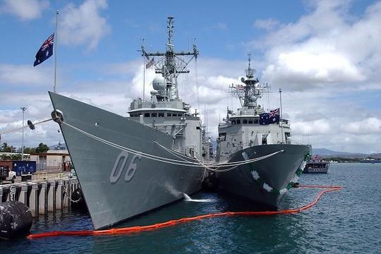 Úc mạnh tay chi cho phát triển vũ khí hải quân