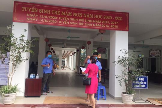 Hà Nội: Trường mầm non Tứ Liên cho học sinh nghỉ vì liên quan đến ca bệnh 1553