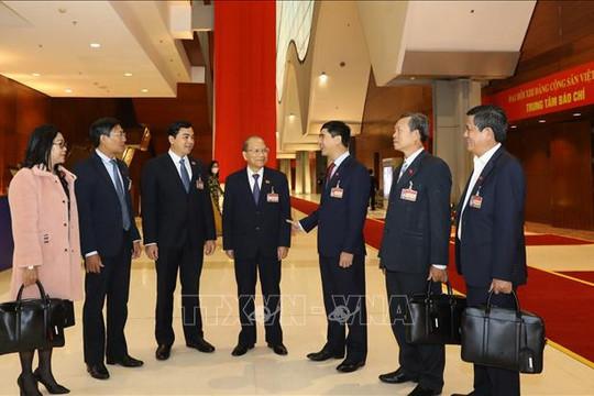 Ngày 29.1, Đại hội XIII của Đảng tiếp tục làm việc về công tác nhân sự