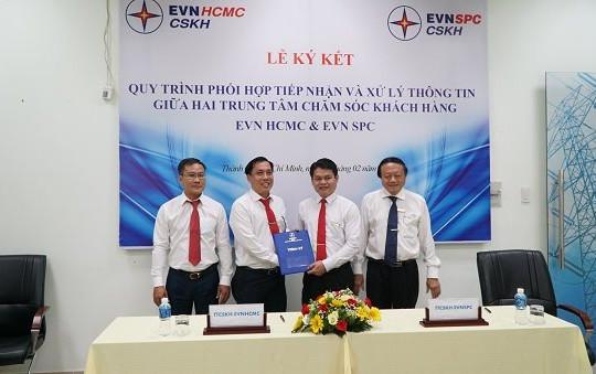 EVNSPC và EVNHCMC hợp tác để phục vụ tốt hơn khách hàng sử dụng điện