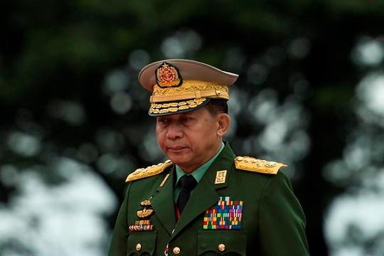 Đảo chính tại Myanmar: 'Tâm điểm' Tổng tư lệnh Min Aung Hlaing