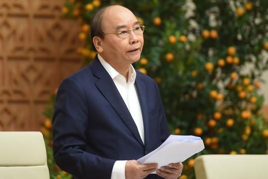 Thủ tướng yêu cầu không tổ chức đi thăm, chúc Tết cấp trên, cấm tặng quà cho lãnh đạo