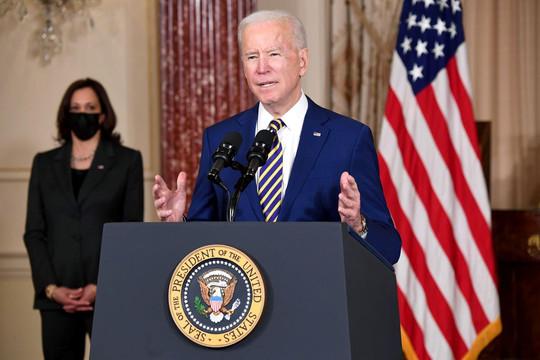 Tổng thống Joe Biden: Mỹ sẽ không còn khoan nhượng với Nga