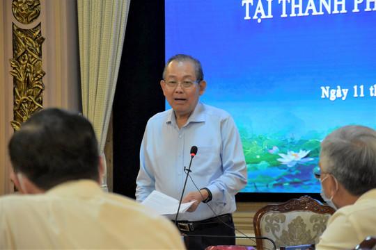 Phó Thủ tướng Trương Hoà Bình: TPHCM tuyệt đối không lơ là, chủ quan trong phòng chống dịch