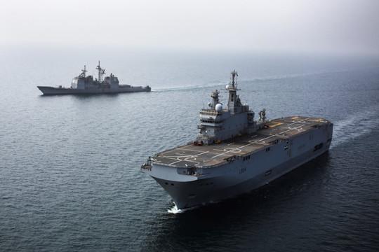 Pháp điều tàu chiến tới Biển Đông 'nhằm tăng cường hiểu biết về khu vực'