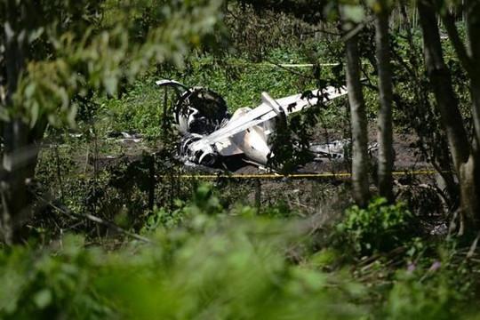 6 người thiệt mạng trong vụ rơi máy bay quân sự Mexico