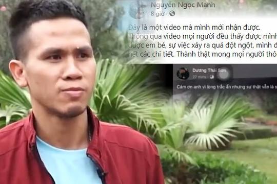 Nguyễn Ngọc Mạnh đăng clip cố chứng minh không phải người hùng dù cứu mạng bé gái rơi từ tầng 12
