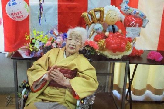 Cụ bà 118 tuổi được chọn rước đuốc Olympic Tokyo 2020