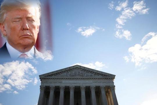 Tòa án Tối cao Mỹ bác đơn kháng cáo bầu cử cuối cùng của ông Trump