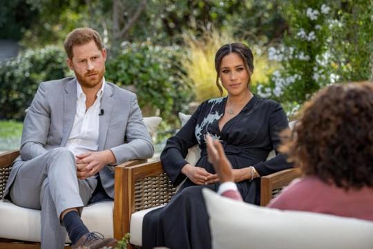 Cuộc phỏng vấn Hoàng tử Harry và Công tước Meghan nóng nhất mạng xã hội, có 17,1 triệu người xem ở Mỹ