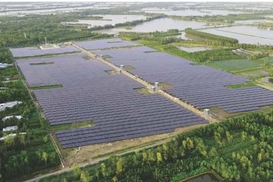 Hậu Giang: Khánh thành nhà máy điện mặt trời đầu tiên