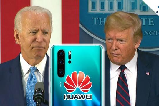 Tiếp nối chính sách của Trump, Biden siết chặt giới hạn với các nhà cung cấp cho Huawei