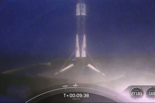 SpaceX lập kỷ lục trong vụ phóng 60 vệ tinh lên quỹ đạo