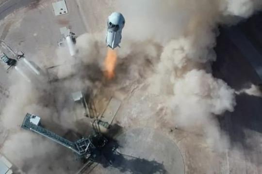 Blue Origin sẽ mô phỏng lực hấp dẫn của Mặt trăng khi phóng tên lửa cho NASA
