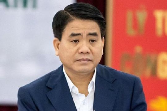 Ông Nguyễn Đức Chung bị khởi tố trong vụ mua chế phẩm Redoxy