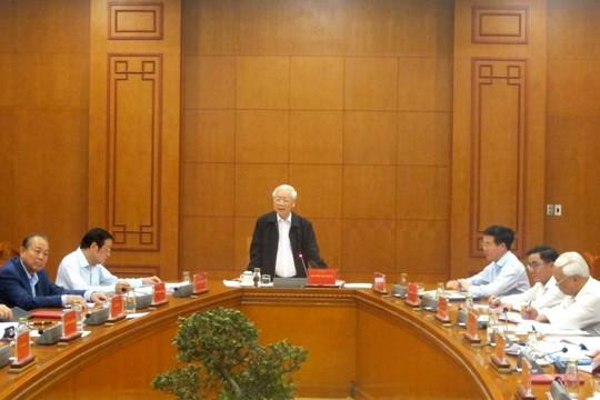 Tổng Bí thư, Chủ tịch nước Nguyễn Phú Trọng yêu cầu khẩn trương xét xử 5 vụ án