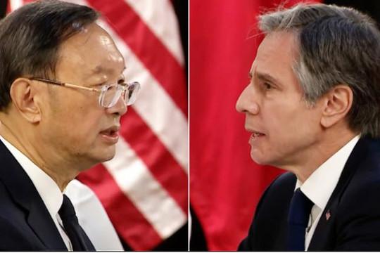 Nhà ngoại giao hàng đầu Mỹ và Trung Quốc khẩu chiến dữ dội ở Alaska
