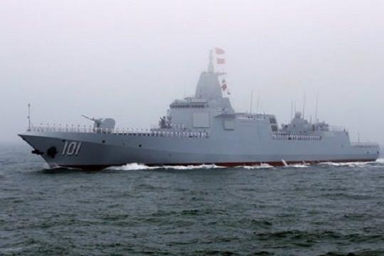 Khu trục hạm Trung Quốc lượn lờ vùng biển gần Nhật Bản