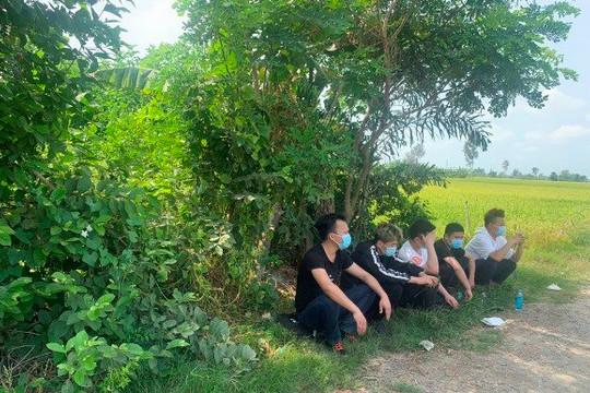 An Giang: Có kết quả xét nghiệm COVID-19 với 5 thanh niên Trung Quốc nhập cảnh trái phép