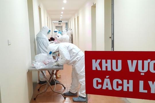 Chiều 22.3, chuyên gia Ấn Độ cùng 2 người Việt nhập cảnh mắc COVID-19