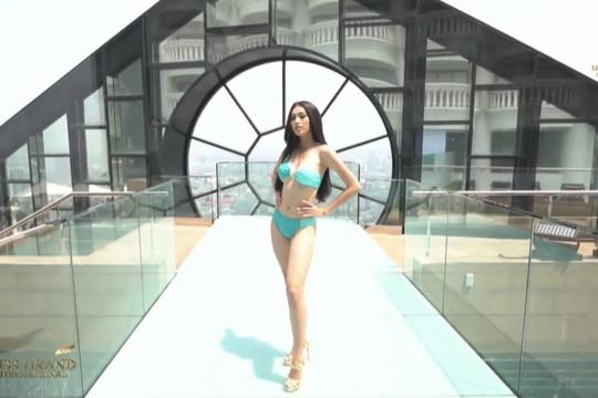Miss Grand International 2020: Á hậu Ngọc Thảo vào Top 20 thí sinh trình diễn bikini ấn tượng