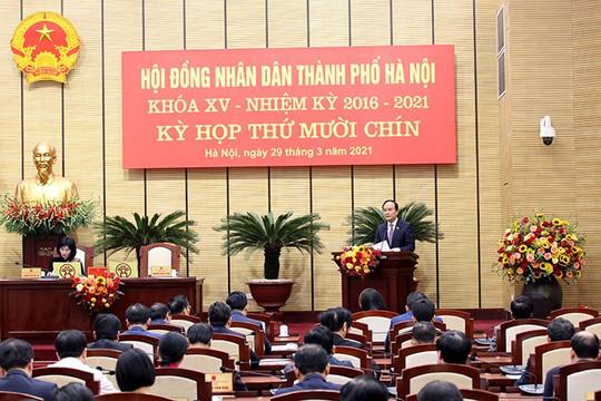HĐND TP.Hà Nội đồng ý chủ trương đầu tư 5 dự án với kinh phí hơn 1.755 tỉ đồng