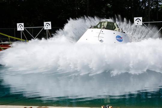 Tàu vũ trụ Orion của NASA bắt đầu các thử nghiệm hạ cánh mới