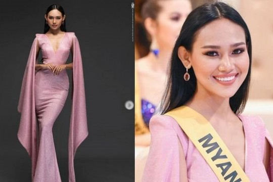 Người đẹp Myanmar Han Lay được khuyên nhủ ở lại Thái Lan để tránh bạo lực