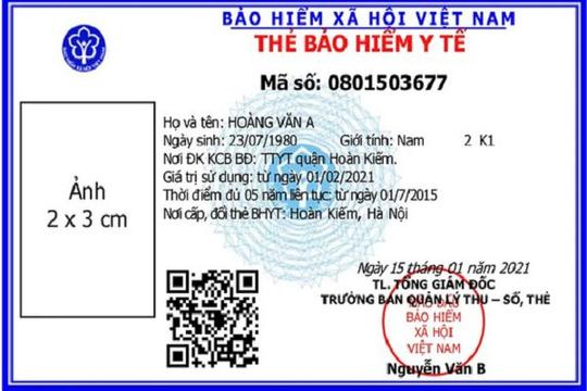 TP.HCM tiếp tục gia hạn thẻ bảo hiểm y tế mẫu cũ cho người đang sử dụng