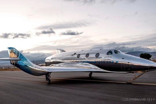 Virgin Galactic công bố mẫu máy bay vũ trụ SpaceShip III đầu tiên