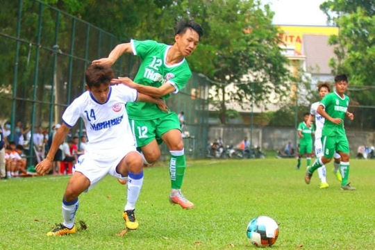Hoà Sài Gòn 2-2, Quảng Nam rời sân trong tiếc nuối