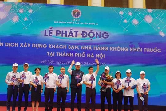 200 khách sạn, nhà hàng tham gia 'chiến dịch' không khói thuốc lá