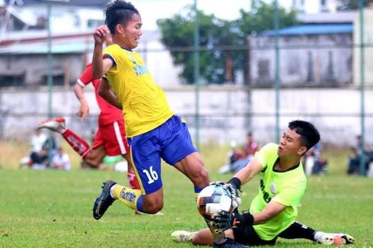 Hoà Khánh Hoà 2-2 sau khi bị dẫn 2 bàn, Đồng Tháp rộng đường vào tứ kết