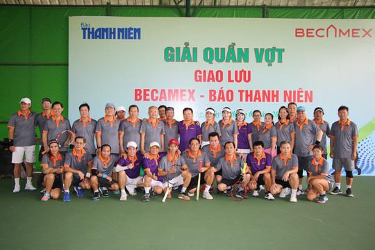 Hào hứng giải quần vợt giao lưu đồng hành cùng VCK bóng đá U.19 Quốc gia