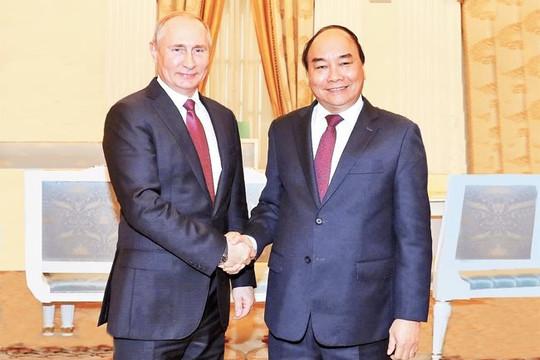 Ông Putin và Tập Cận Bình chúc mừng tân Chủ tịch nước Nguyễn Xuân Phúc