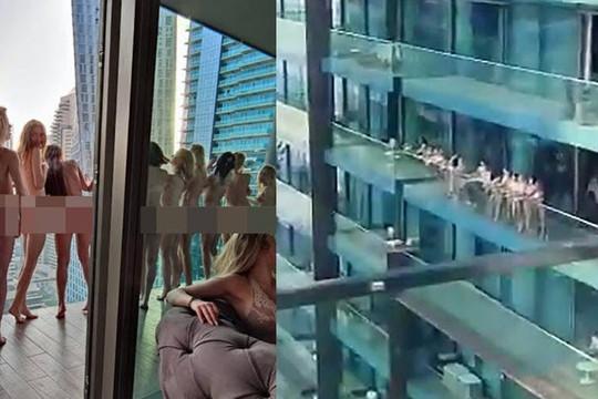40 cô gái bị bắt vì khỏa thân trong khách sạn ở Dubai: 11 người Ukraine, có thể đi tù 6 tháng