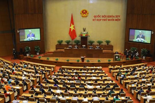 Ngày 6.4, Quốc hội bầu Phó Chủ tịch nước và một số ủy viên Ủy ban Thường vụ Quốc hội