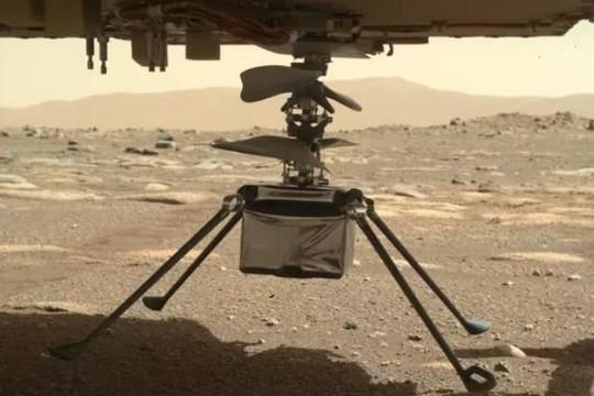 Trực thăng Ingenuity an toàn trải qua đêm lạnh -90 độ C trên sao Hỏa