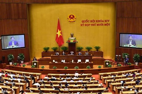 Thủ tướng trình Quốc hội danh sách đề cử 2 Phó thủ tướng, 12 thành viên Chính phủ