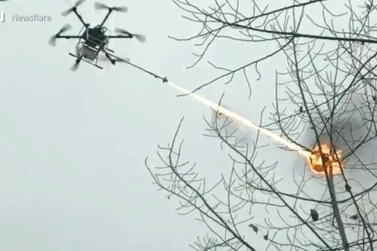 Đài Loan nói có thể bắn hạ máy bay không người lái Trung Quốc